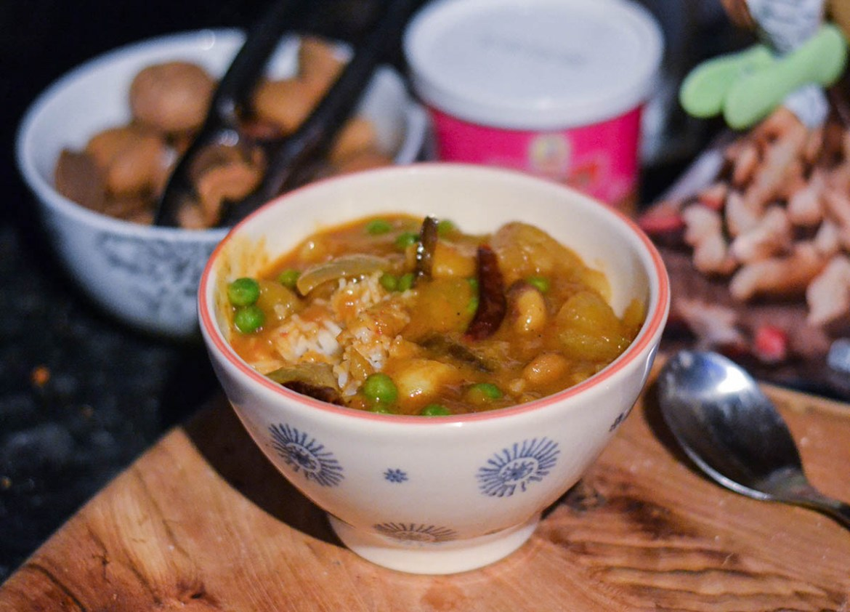 Banging Massaman Curry, Asian Vegetarian Recipes for a Veggie Diet Challenge