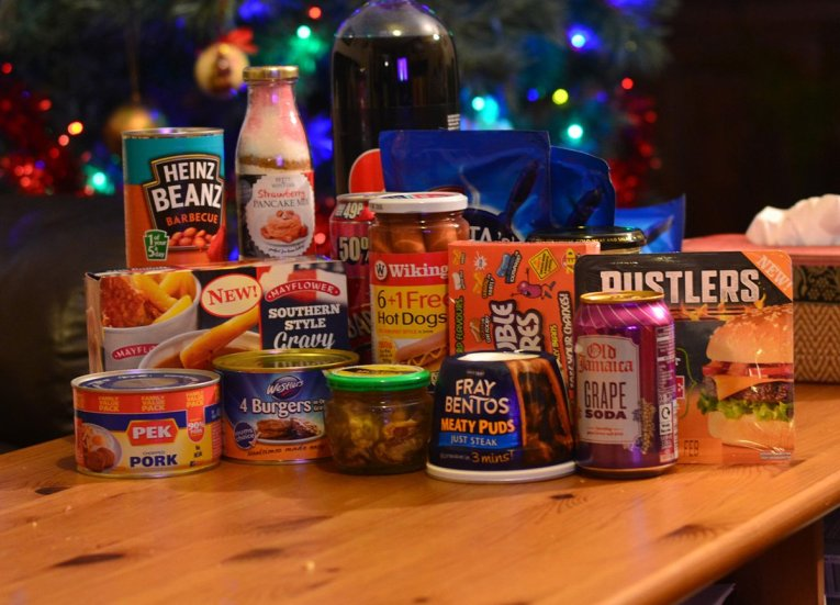 Best Food from B&M Bargain Stores in Northern Ireland.