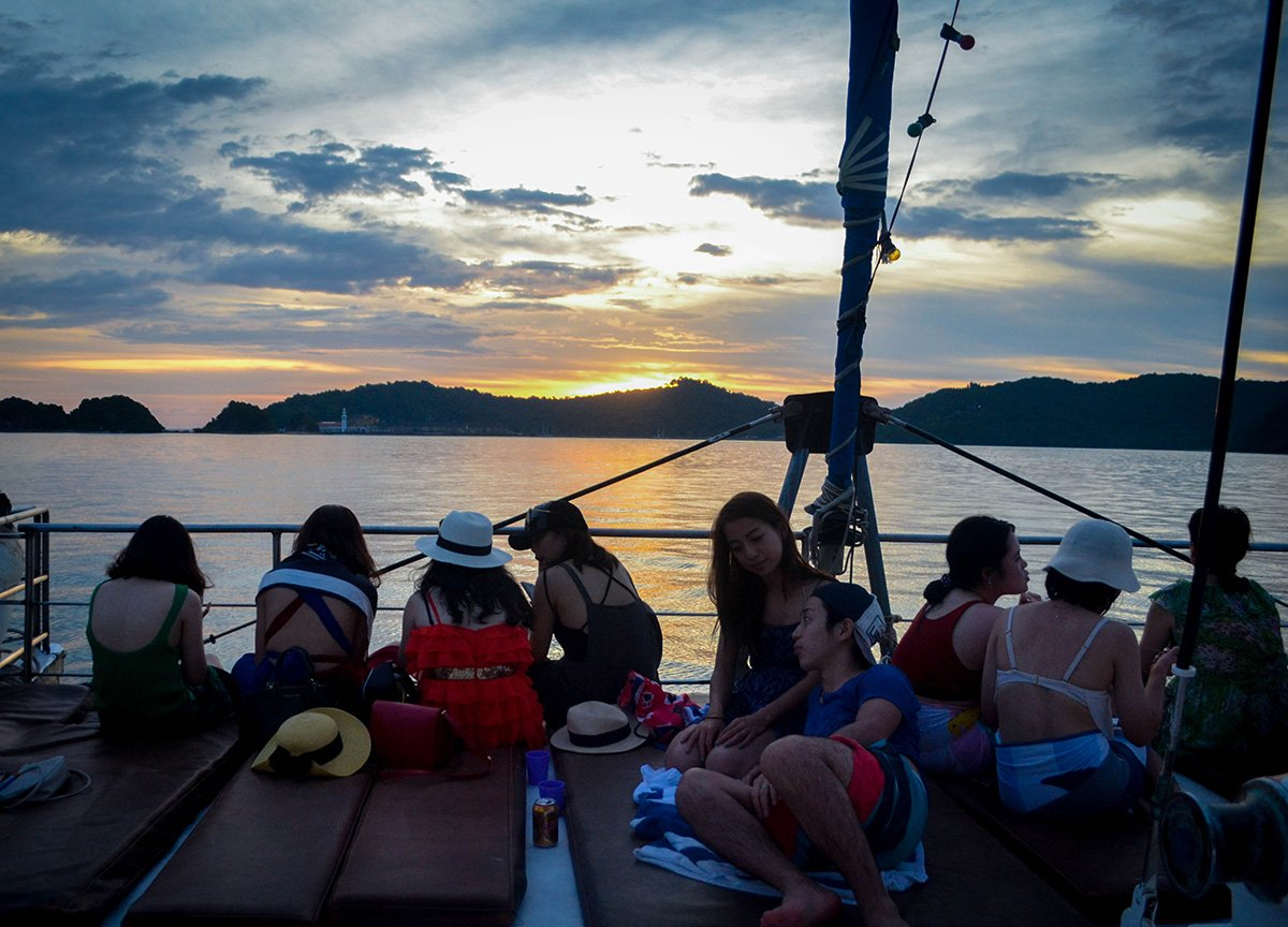 Travel Blogger Media Trip Resorts World Malaysia, Sunset Cruise Langkawi Malaysia