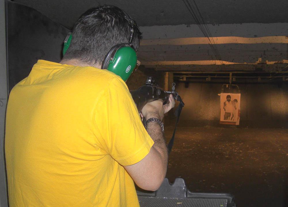 new-york-road-trip-shooting-guns at the firing line Pearl River