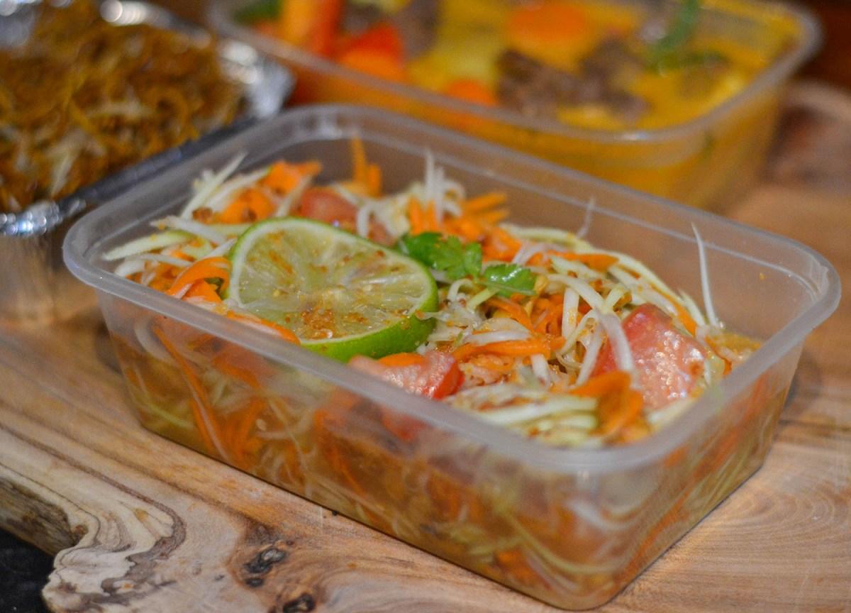 Som Tam Papaya Salad Tuk Tuk Bangor Thai Food Delivery