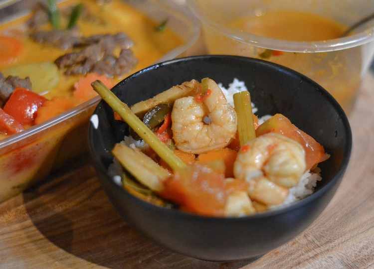 Tom Yum Koong Hot and Sour from Tuk Tuk Bangor Thai Food Delivery