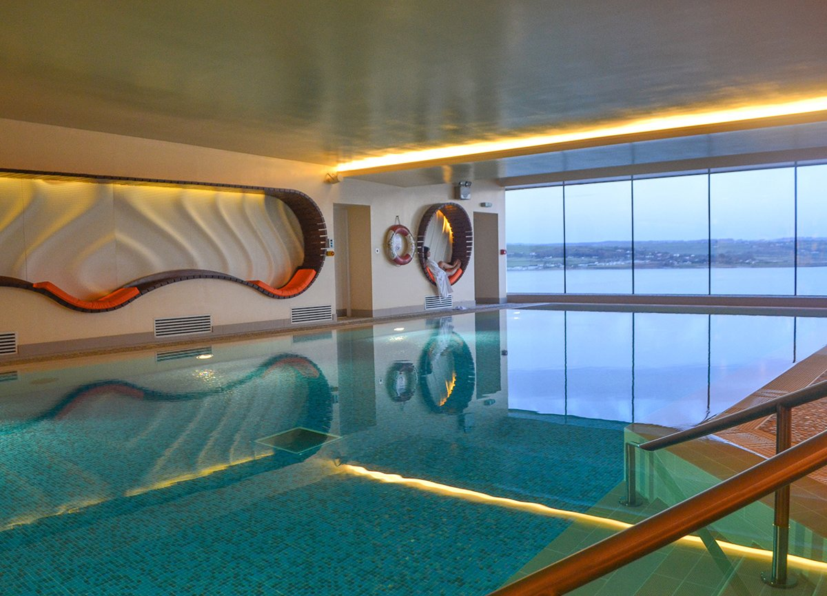 Swimming Pool at The Cliff House Hotel Waterford Ireland