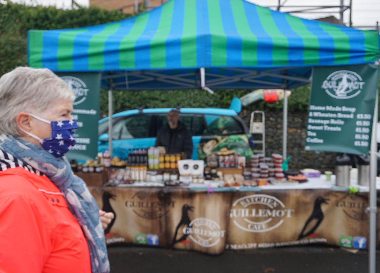 Guillemot Deli at Bangor Market in Northern Ireland