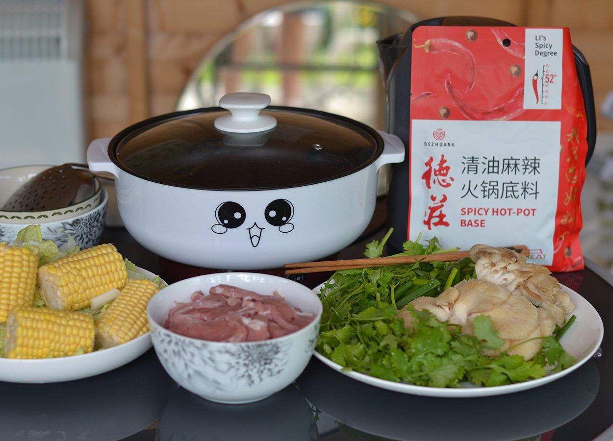 De Zhuang Sichuan Soup Base for Tabletop Hot Pot UK