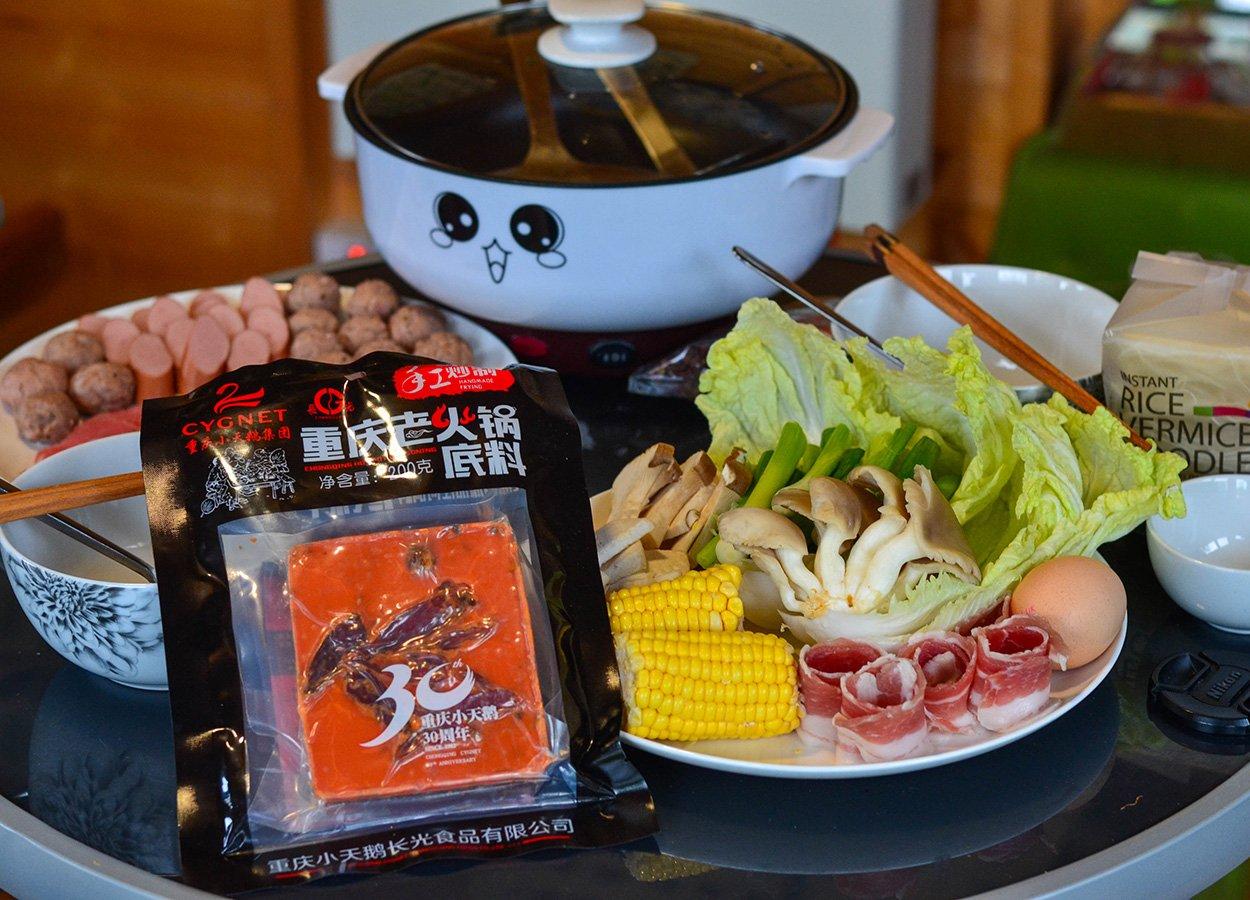 Tabeltop Hot Pot Cygnet Sichuan Hot Pot Soup Base Asia Supermakets UK