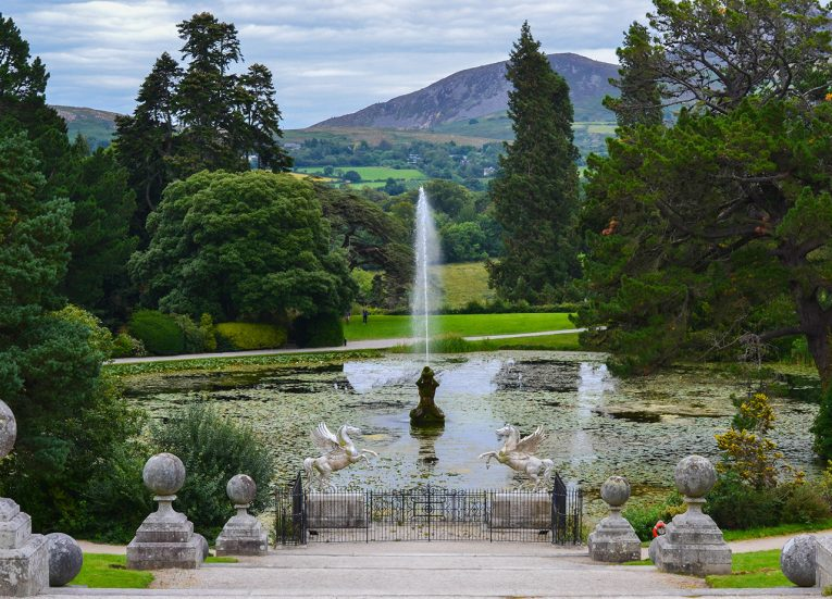 Great Sugar Loaf Mountain from Powerscourt Ireland's Ancient East Road Trip Itinerary