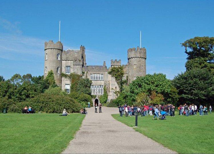 Malahide Castle in Summer on Ancient East Road Trip in Ireland