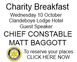 CHARITY BREAKFAST BUTTON
