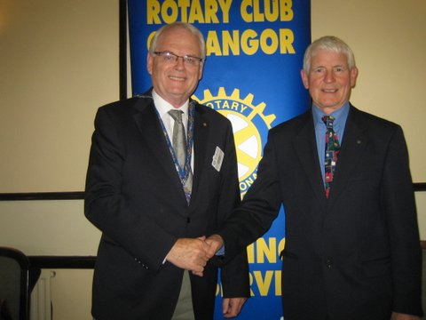 Louis Boyle at Rotary Oct 2013