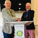 Patrick Cregg is President-Elect for Bangor Rotary