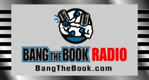 Bang the Book Radio Podcast logo