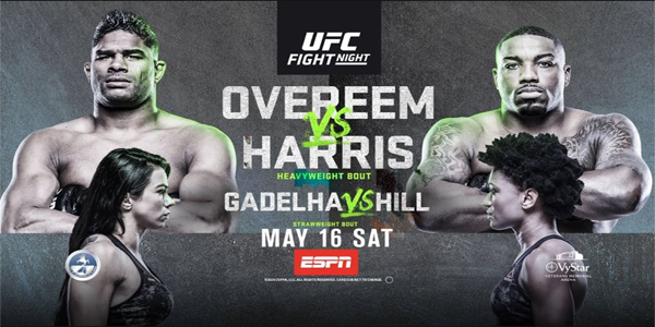 Watch UFC Fight Night 172 Overeem vs. Harris 5/16/20