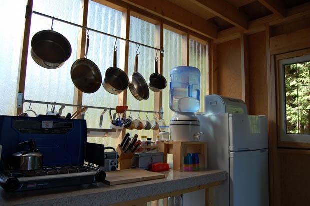 แบบห้องครัวแบบพอเพียง