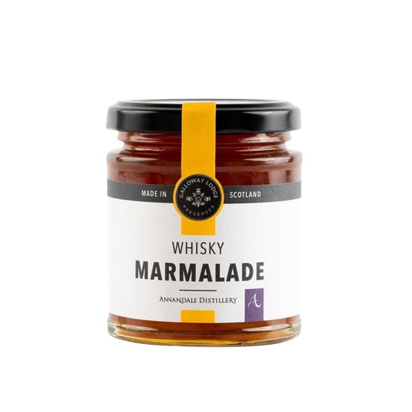 Jar of Whisky Marmalade from Galloway Lodge