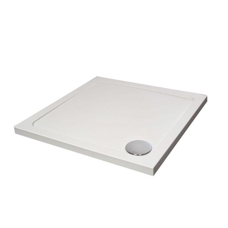 receveur de douche hybride de 70x70 cm blanc