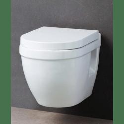 geberit duofix pack wc suspendu avec cuvette compact abattant soft close complet