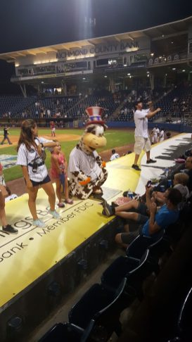 Yankees mascot, Scooter the Holy Cow