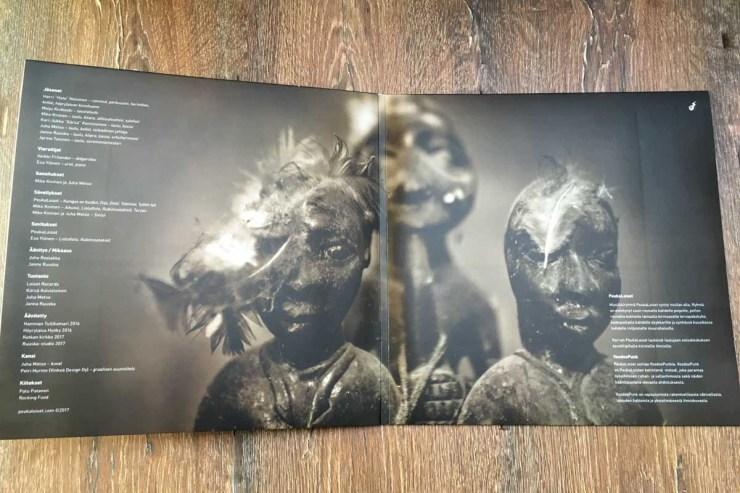 PeukaLoiset Lintukoto LP-levyn kannet