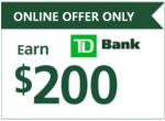 TD Bank $200 Bonus