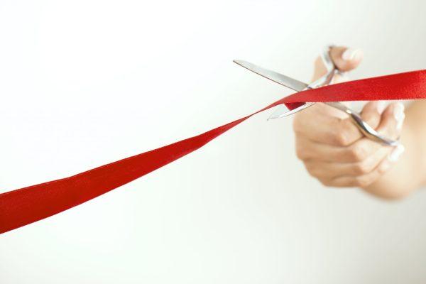 Ribbon Cutting, McCaleb-Metzler