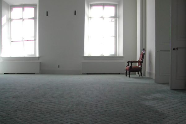 Unoccupied Property Insurance empty room with chair