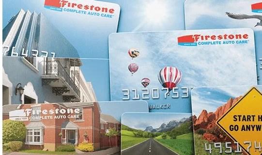 firestone credit card login