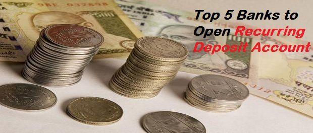 Top Recurring Deposit Banks in India