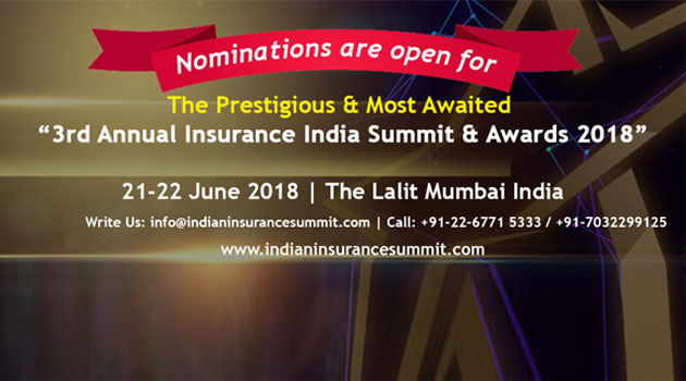 3rd Annual Insurance India Summit & Awards 2018 - Banking Finance