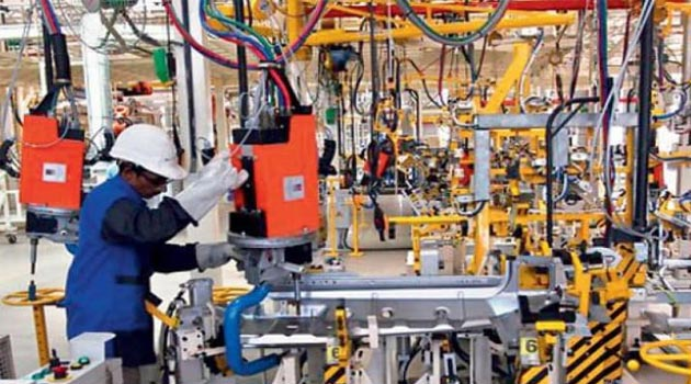 Manufacturing activity improves