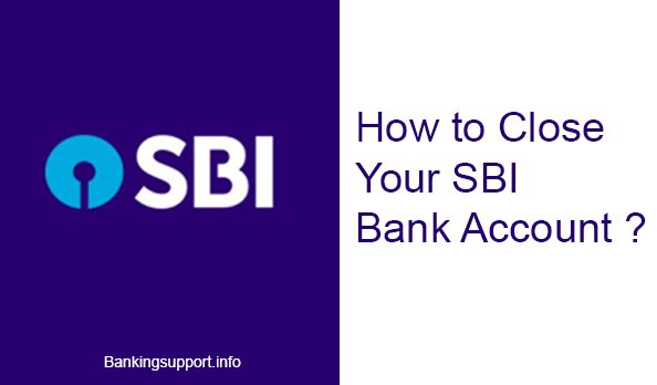 How to close SBI Account