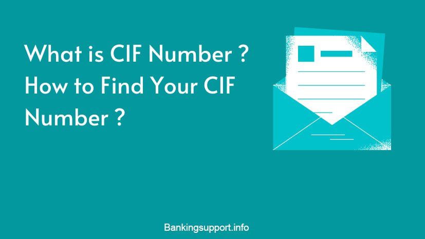 What is CIF Number