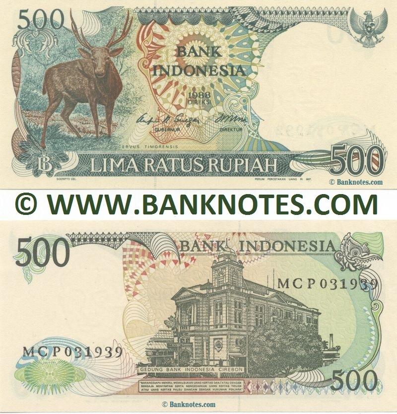 Penampakan Hewan Bertanduk pada Uang 500 Rupiah