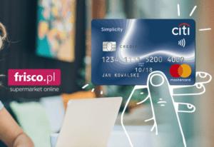 karta kredytowa citibanku z voucherem do frisco