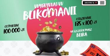 BLIK regularnie organizuje loterię Blikomania