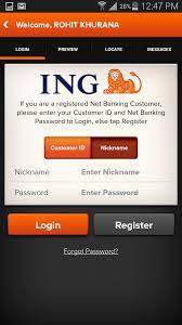 ING bank phone