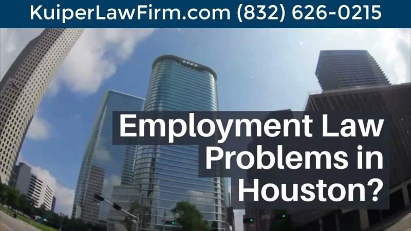 Best Houston Employment Lawyers