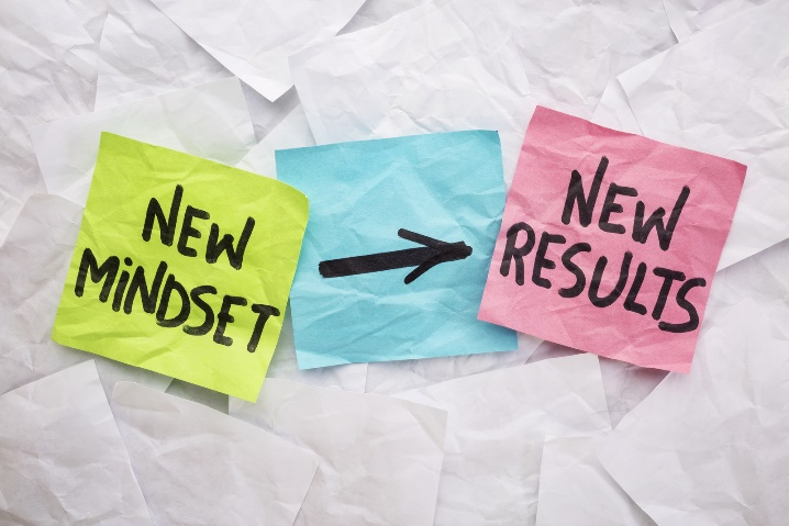 New mindset -> new results