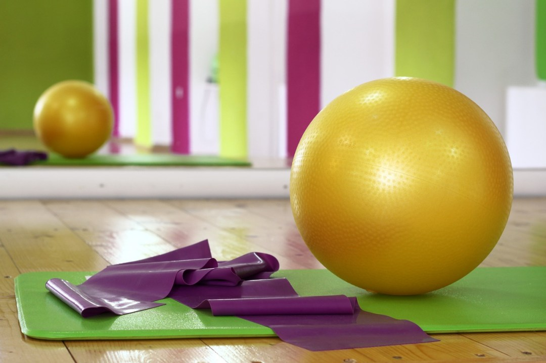 pilates, exercise, fit ball