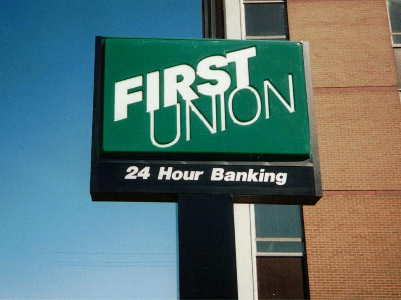 Bank Signs By Kerley Signs Inc Maryland Virginia