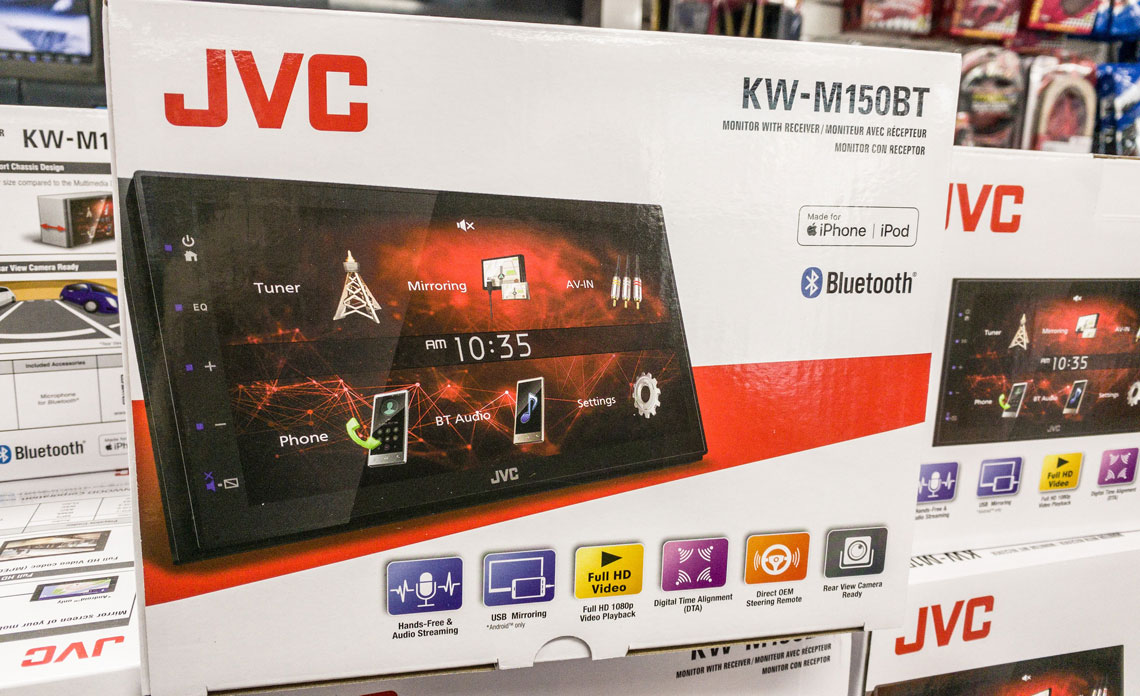 JVC KW-M150BT Review