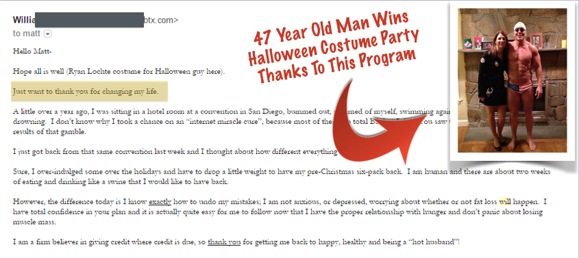 47 year old man wins Halloween costume party