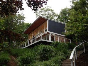 Modern Home by Charles Goodman in Virginia