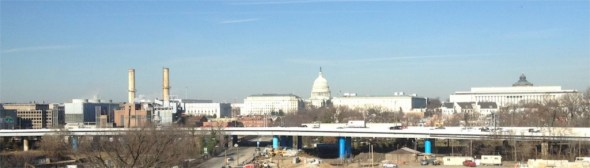 Capitol Hill Tower views