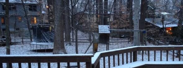 RCF Yard Snow