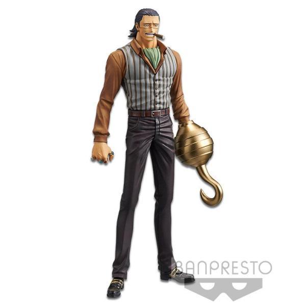 Figura Sir Crocodile de One Piece por Banpresto