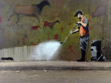 Banksy le grand nettoyage