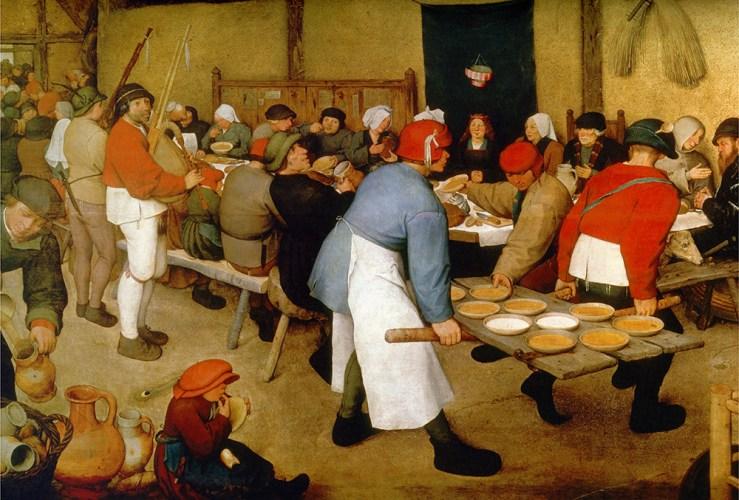 Noces paysannes, 1567, Banque de l'image