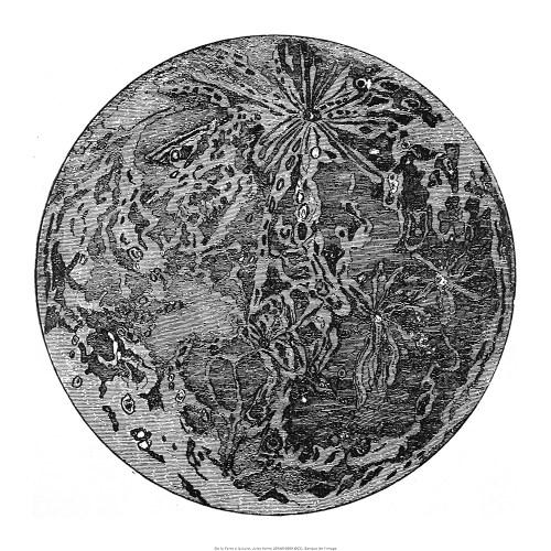 De la terre à la lune, Jules Verne