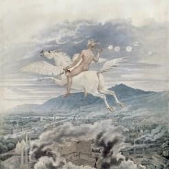 Karl Friedrich, Pegase Schinkel Allegorie auf Beuth, 1837